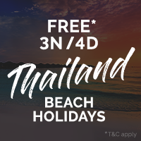 Enjoy a Free* 3N/4D Holiday in Phuket, Ko Samui or Krabi, Thailand. With a Club Mahindra Membership