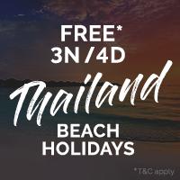 Enjoy a Free* 3N/4D Holiday in Phuket, Ko Samui or Krabi, Thailand. With a Club Mahindra Membership